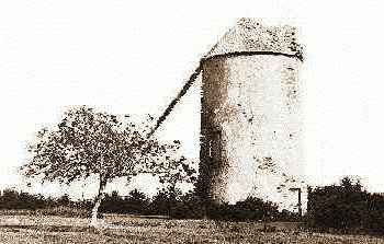 Photo du moulin datant du XIXe siècle